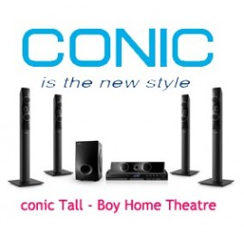 CONIC Tall Boy Home theatre